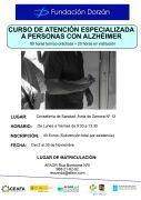 Curso de atención especializada a personas con alzheimer 2017