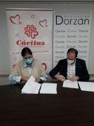 Convenio Cáritas - Fundación Dorzán - 2021