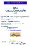 BECA Fundación Dorzán 2017